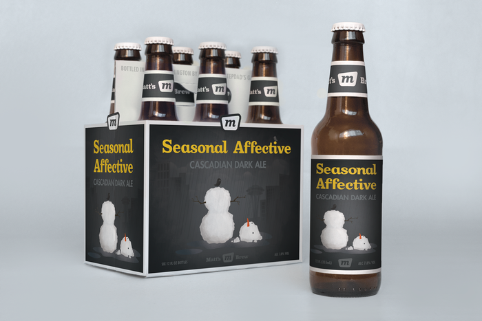 Seasonal Affective Cascadian Dark Ale 1