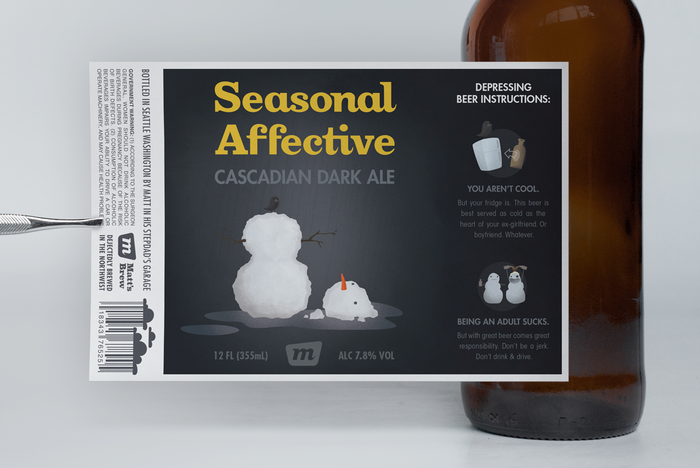 Seasonal Affective Cascadian Dark Ale 2