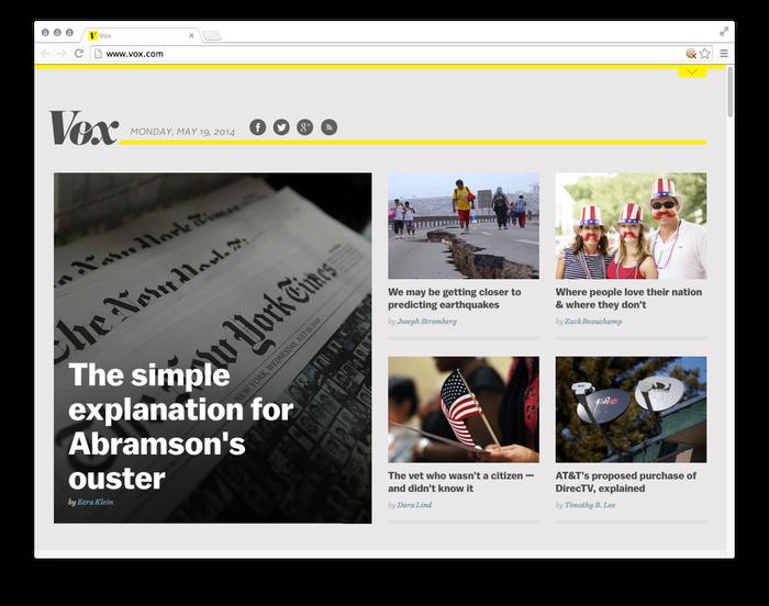 Vox website 1
