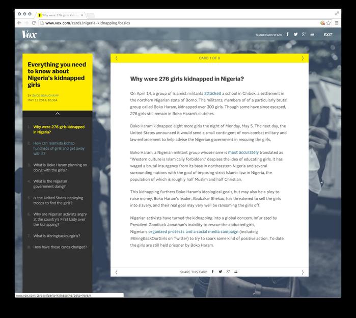 Vox Website 2