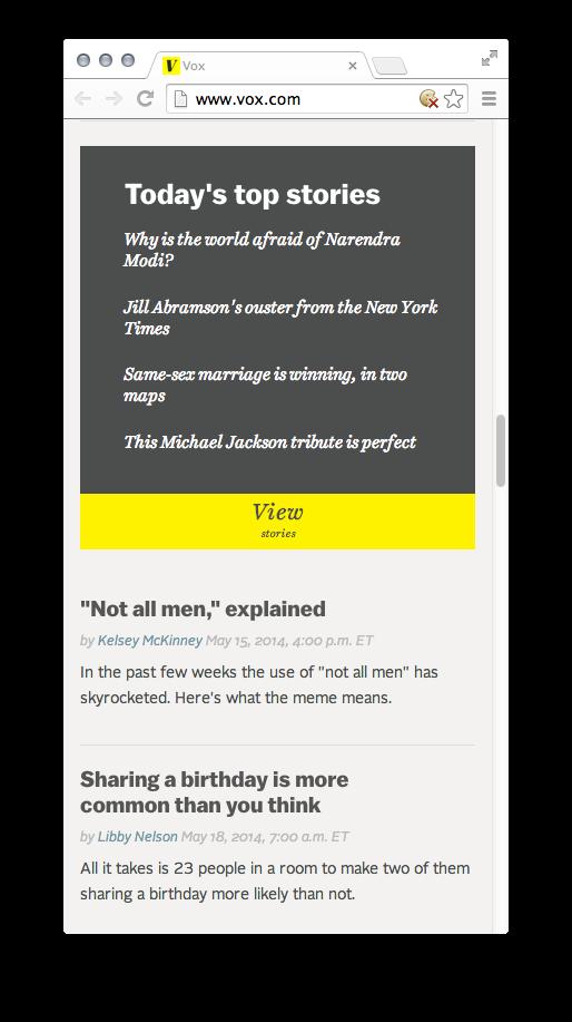 Vox website 7