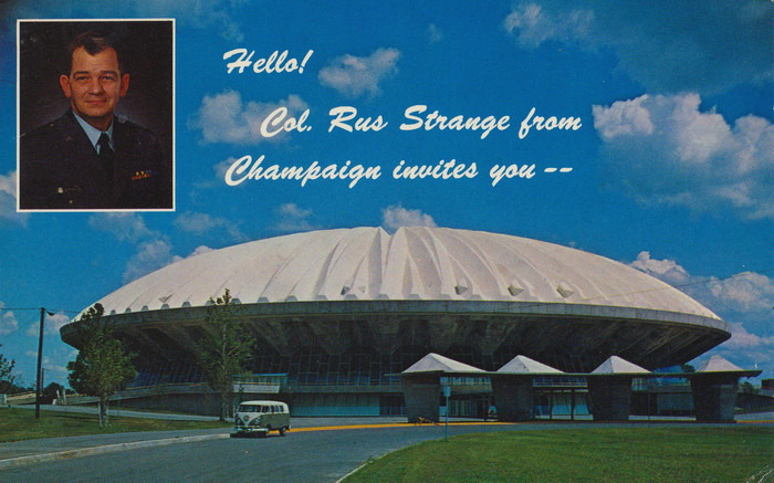 University of Illinois Air Force ROTC postcard