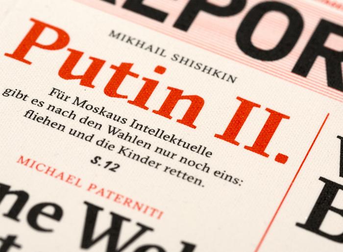 Reportagen magazine 6