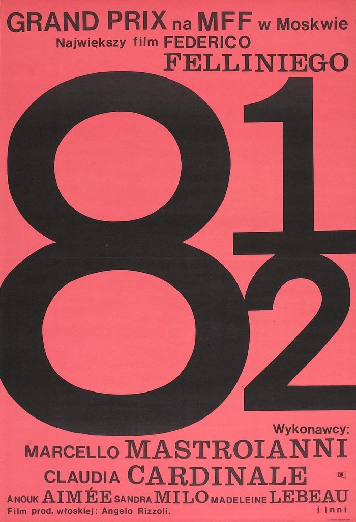 8½ movie poster