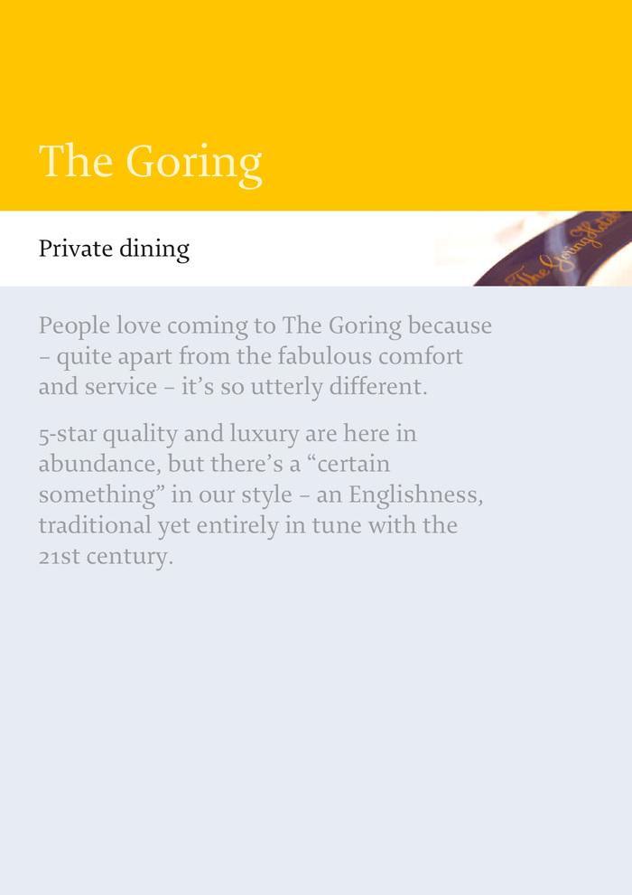 The Goring 3