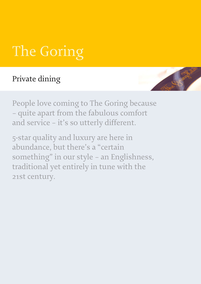 The Goring 3