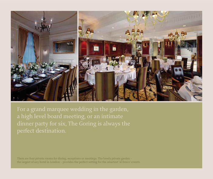 The Goring 5