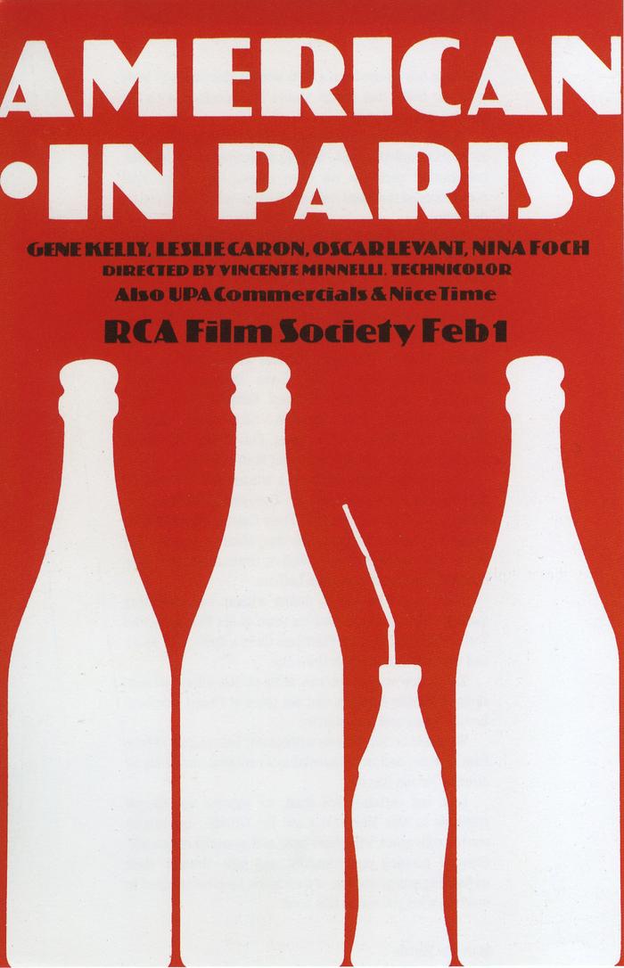 American in Paris movie poster