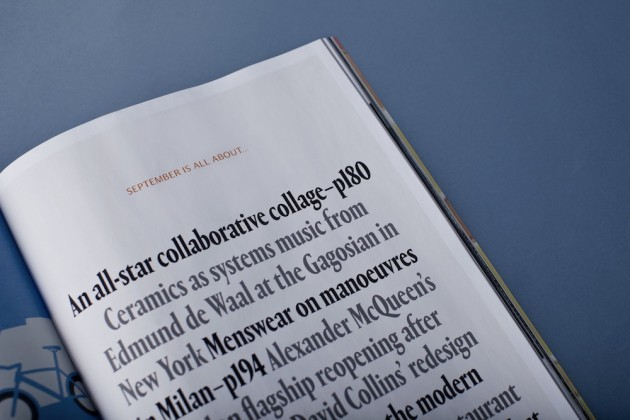 Wallpaper* magazine, 2013 Redesign 8