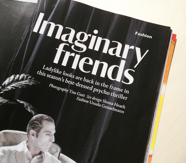 Wallpaper* magazine, 2013 Redesign - Fonts In Use