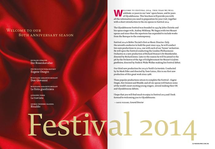 Glyndebourne Festival 2014 2