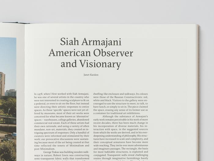 Siah Armajani catalogue 4