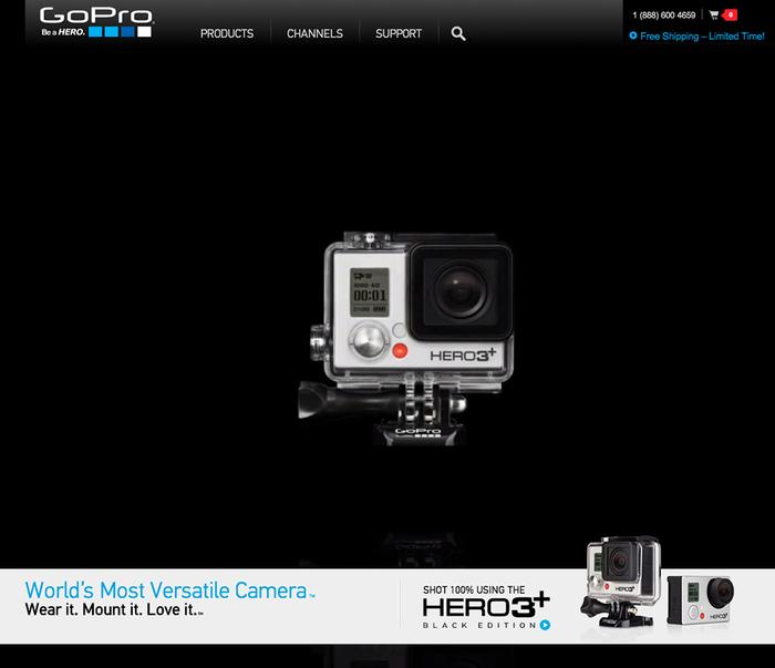 GoPro website 1