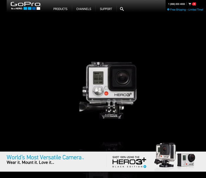 GoPro website 1