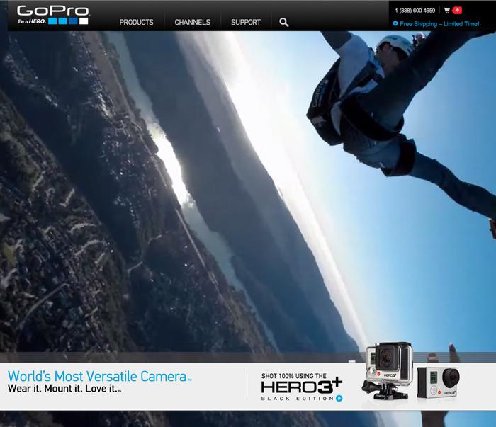 GoPro website 4