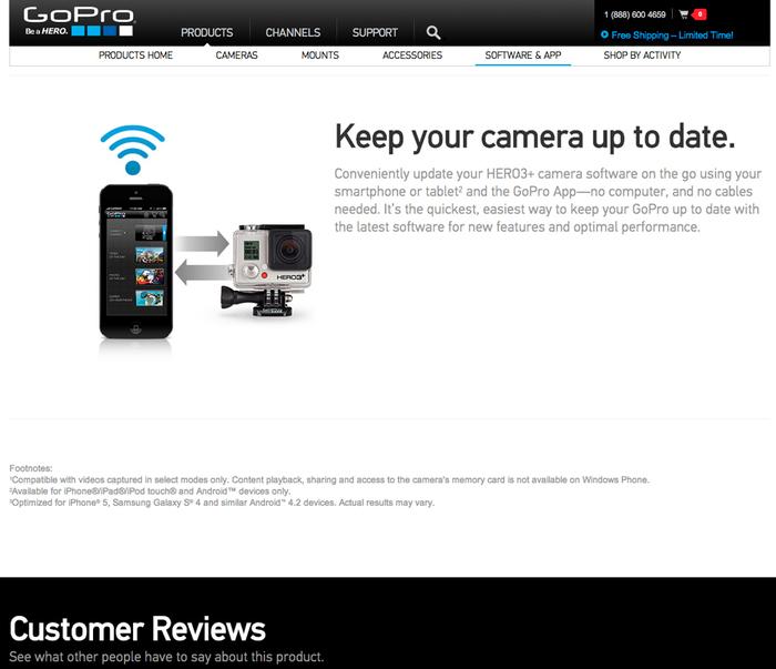 GoPro website 5