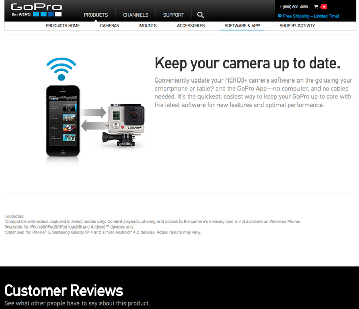 GoPro website 5