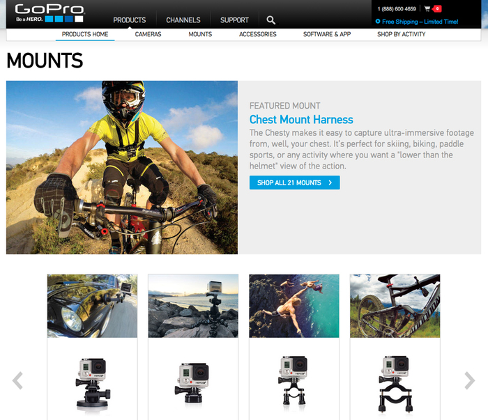 GoPro website 6