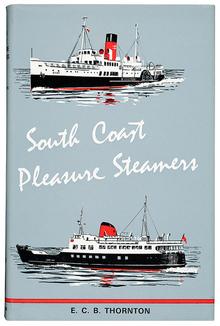 <cite>South Coast Pleasure Steamers</cite> book cover