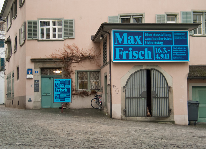Max Frisch. Eine Ausstellung zum hundertsten Geburtstag 4