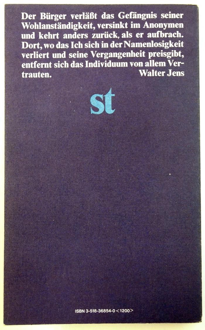 Homo faber book cover 2