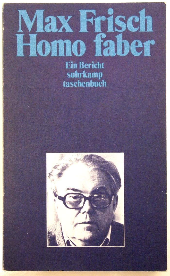 Homo faber book cover 1
