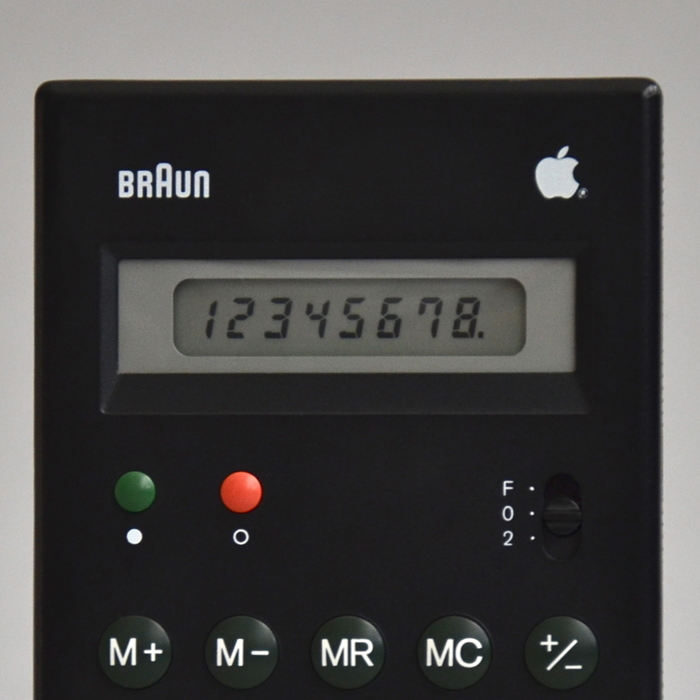 Braun ET 55 pocket calculator 4