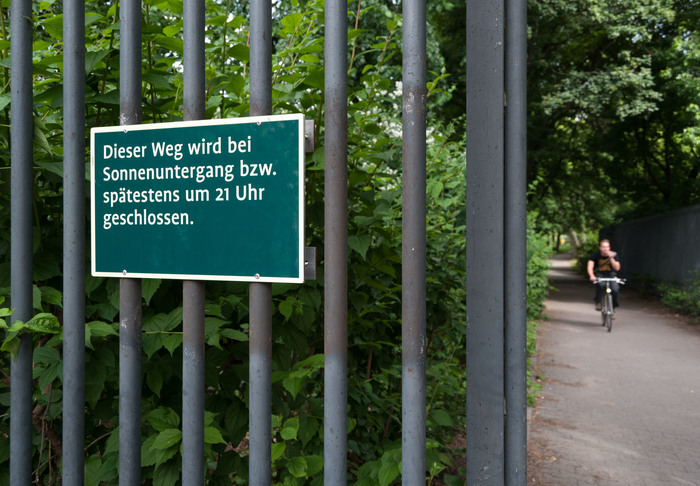 Wayfinding system Großer Tiergarten 5