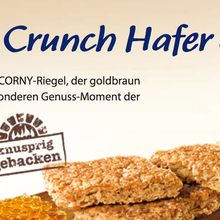 <cite>Corny</cite> granola bars website