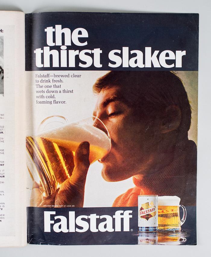 Falstaff beer ad 1