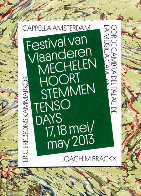 Festival van Vlaanderen Poster 1