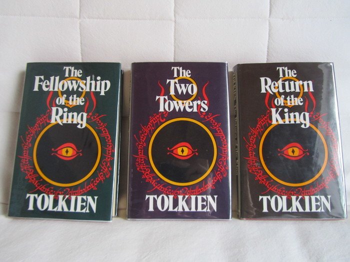 The Lord of the Rings, 2nd Edition, 8th Impression, 1974.