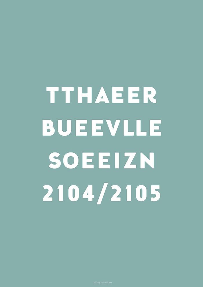 Theater Bellevue Seizoen 2014/2015 3