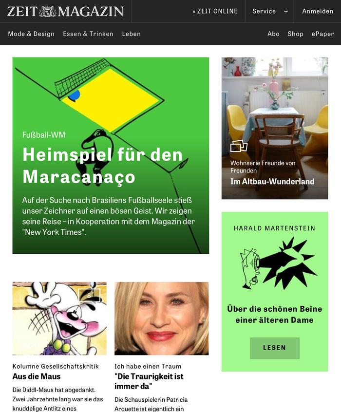 ZEITmagazin Online 1