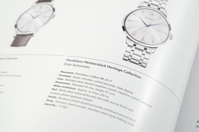 Montblanc Timepieces 2014 catalogue 1