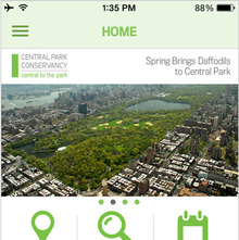 New York City Central Park official app