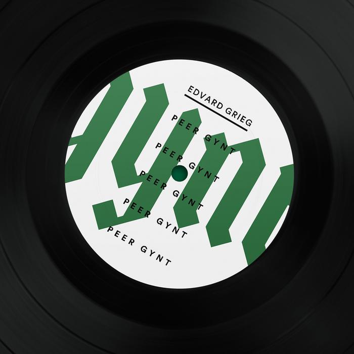 Peer Gynt book cover & vinyl record 2