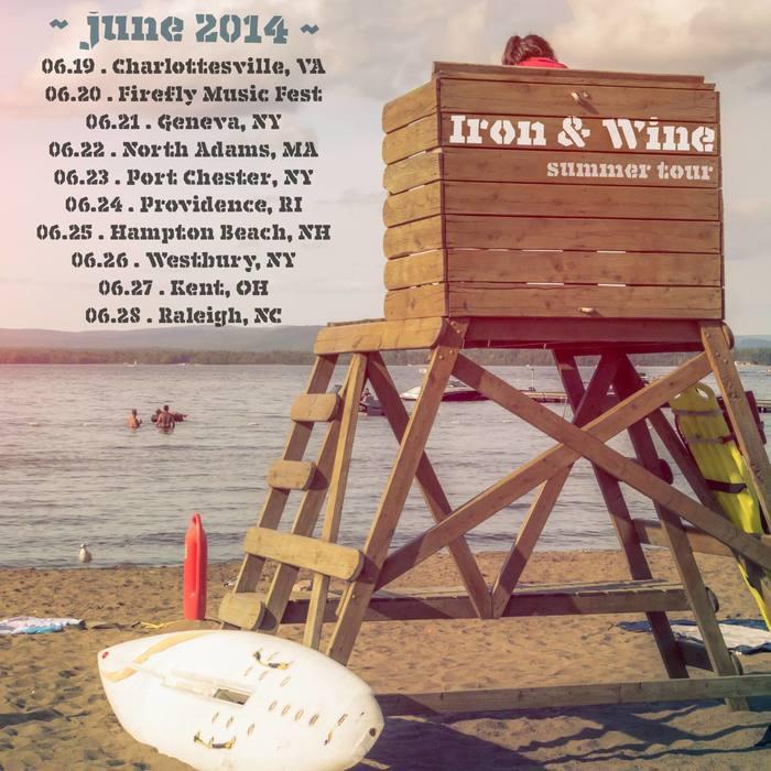 Iron & Wine 2014 Tour 4
