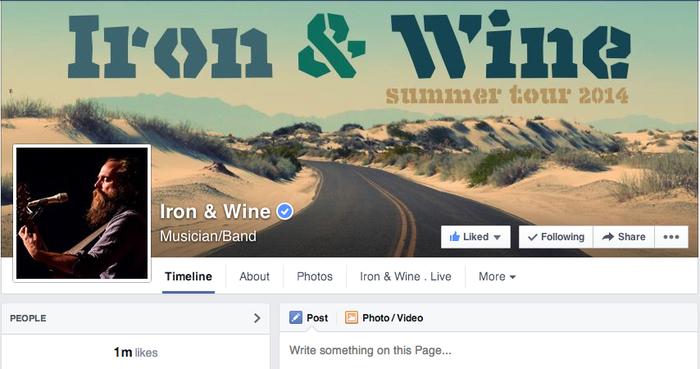 Iron & Wine 2014 Tour 5
