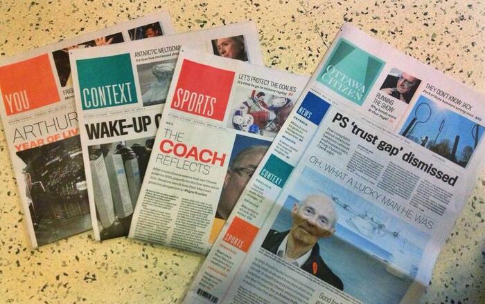 The Citizen's print edition on launch day, via@STUMILLSCBC
