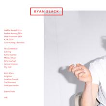Ryan Slack identity