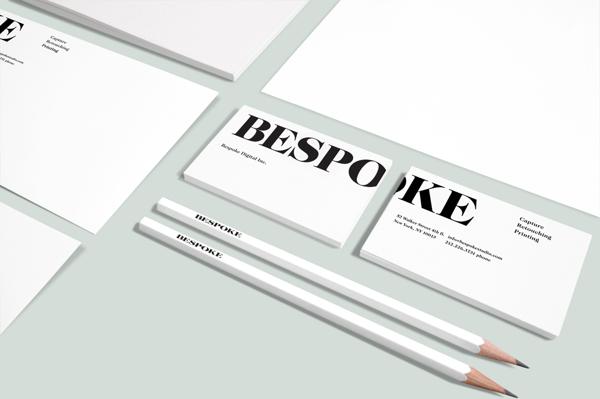 BESPOKE identity and website 2