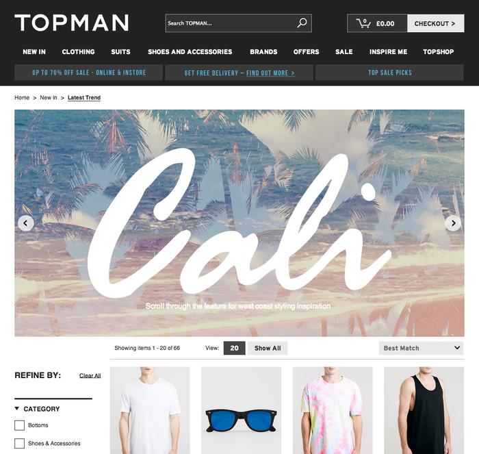 "Topman Trend: ""Cali"" 2"