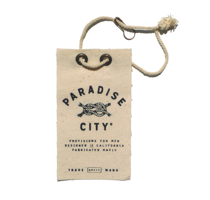 Paradise City hangtags and labels 9