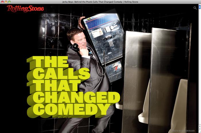 Jerky Boys on Rolling Stone 1