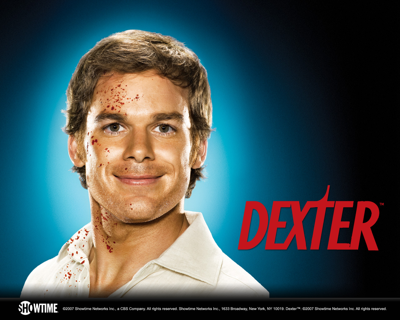 Dexter Logo And Titles Fonts In Use