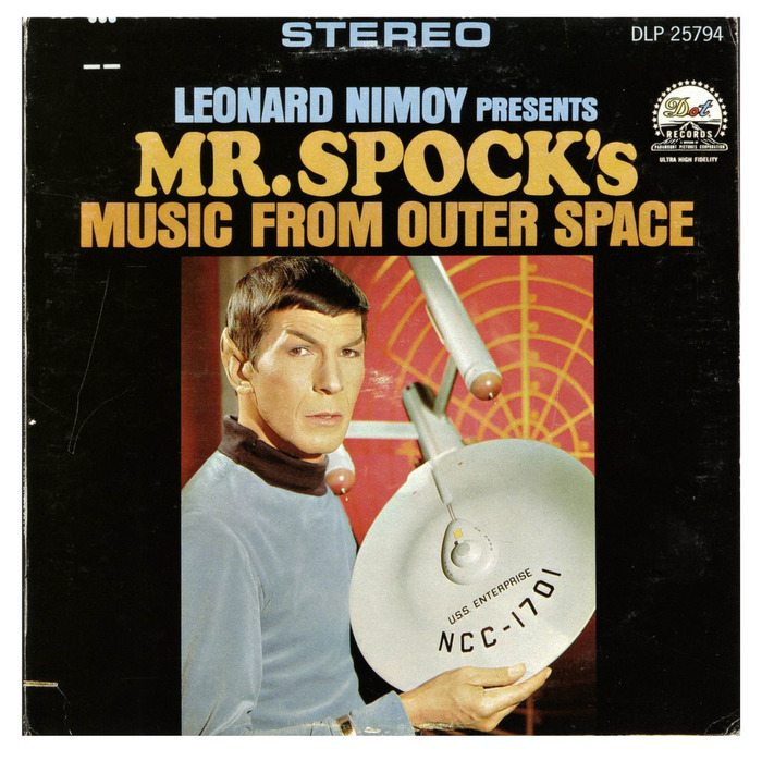 Mr. Spock's Music From Outer Space album art