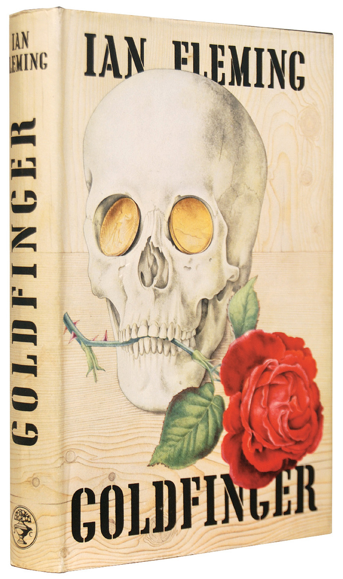 Goldfinger book cover, Jonathan Cape first edition 1