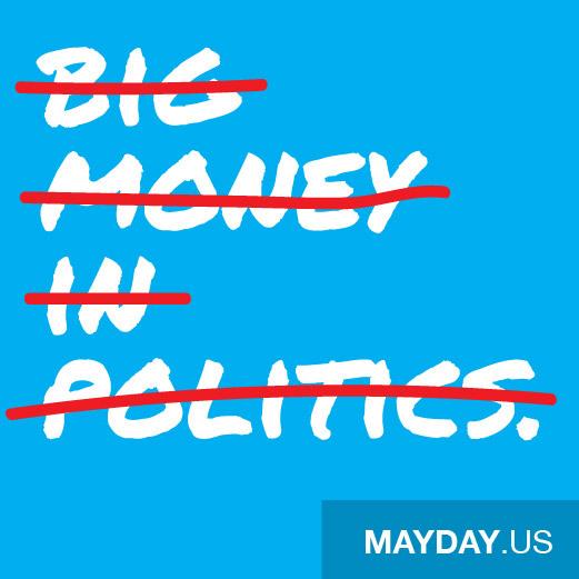 Mayday PAC social media graphics 4