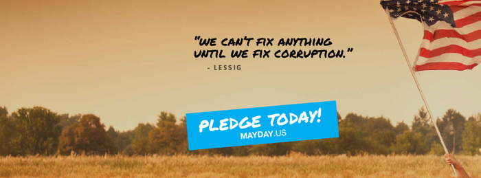 Mayday PAC social media graphics 5